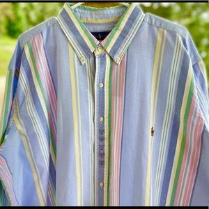 NWT Mens Polo Ralph Lauren Long Sleeves 2XLT